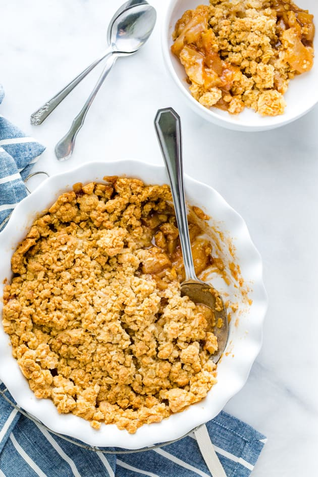 Gluten Free Apple Crisp Picture