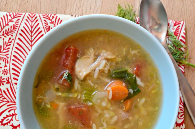 Chicken Quinoa Soup Photo