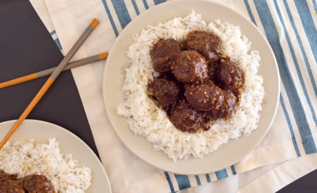 Baked Gluten Free Teriyaki Meatballs Photo