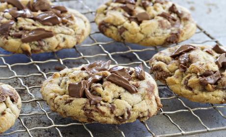 Marbled Chocolate Hazelnut Cookies