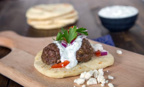 Greek Gyros with Meatballs Recipe