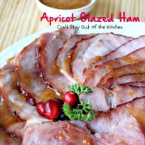 Apricot Glazed Ham
