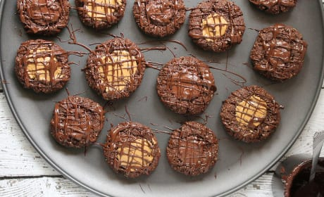 Gluten Free Chocolate Thumbprint Cookies Recipe