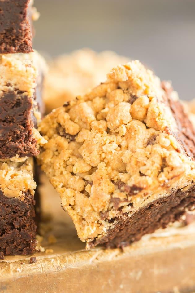 Peanut Butter Streusel Brownies Image