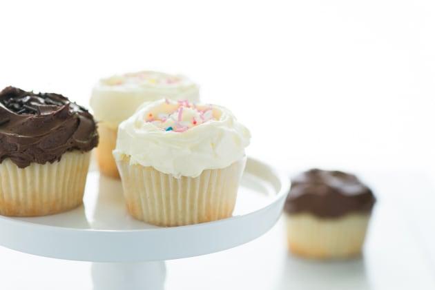 Gluten Free Vanilla Cupcakes Photo
