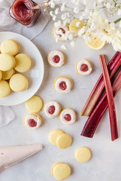 File 2 - Rhubarb Lemon Macarons