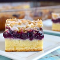 Blueberry Cream Coffee Cake Photo