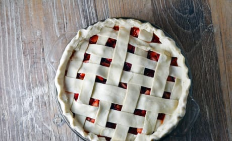 Baked Strawberry Pie Image