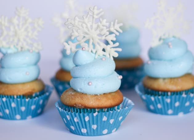 Frozen Cupcakes Photo