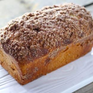 Triple cinnamon swirl bread photo