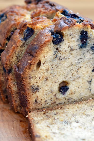 Blueberry Banana Bread Picture