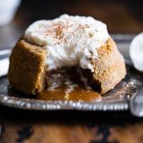 Paleo Pumpkin Lava Cakes Recipe