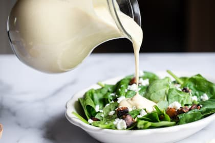 Miso Lemon Tahini Dressing Recipe