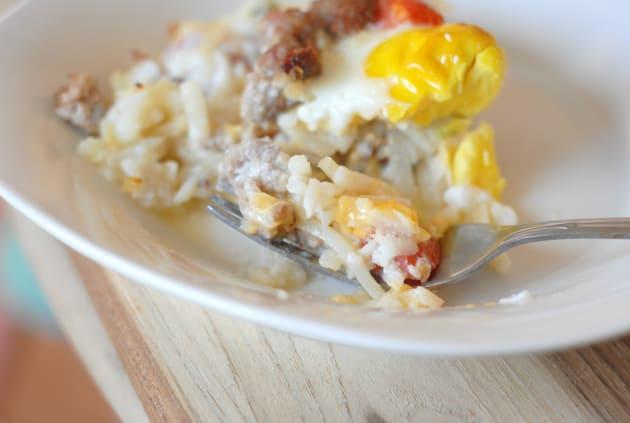Gluten Free Breakfast Casserole Picture