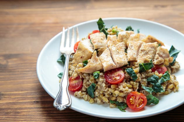 Freekeh Salad with Chicken Photo