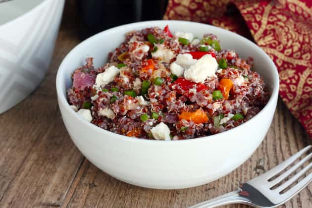 Roasted Vegetable Quinoa Salad Photo