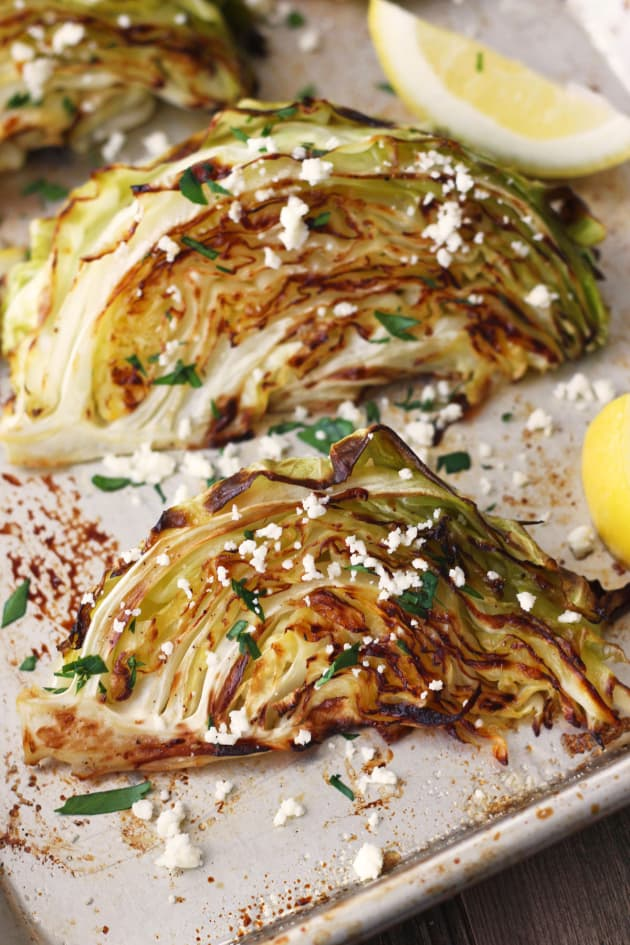 Roasted Cabbage Wedges Pic