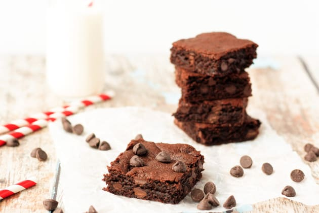 Flourless Peanut Butter Brownies Photo