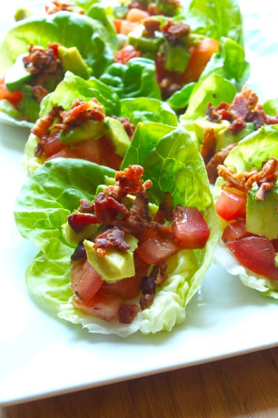 BLT Avocado Wraps Picture