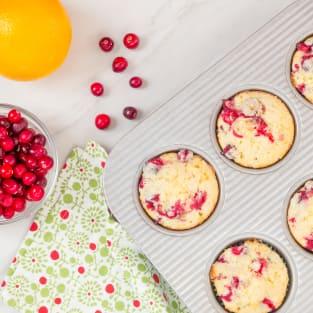 Cranberry orange muffins photo
