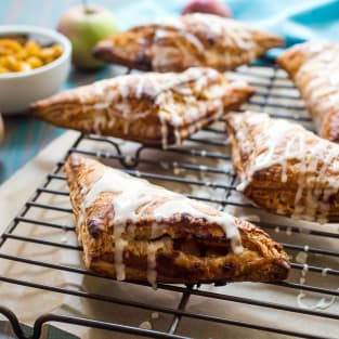 Rum spiked apple turnovers photo
