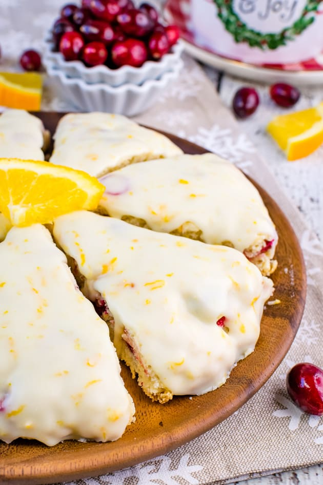 File 3 - Glazed Cranberry Orange Scones