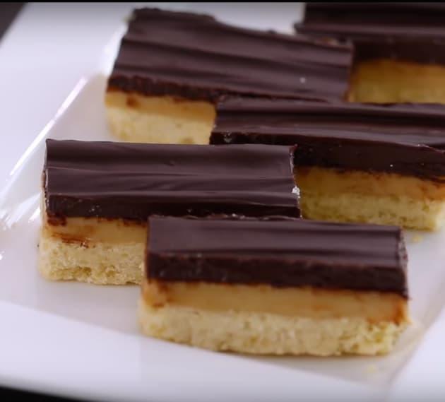 Twix Dessert Bars