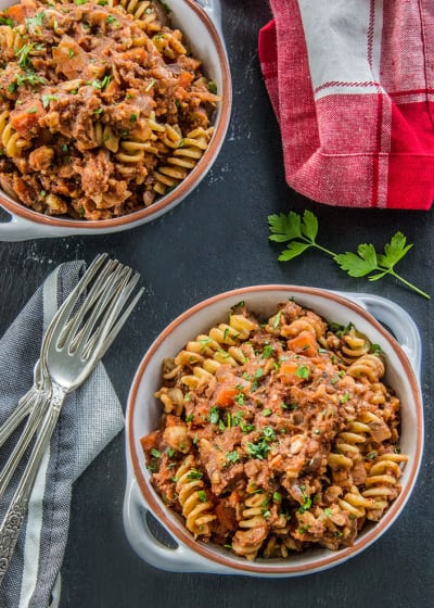 Meatless Chickpea Ragu Picture