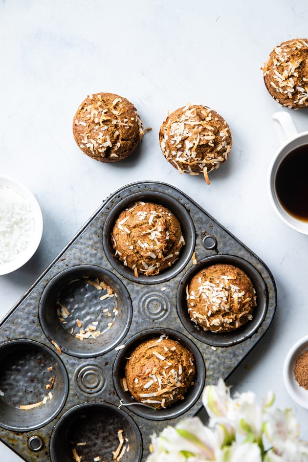 Sugar Free Gluten Free Oatmeal Carrot Muffins Pic