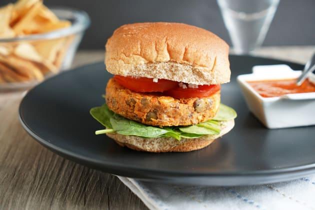Lentil Burger Photo