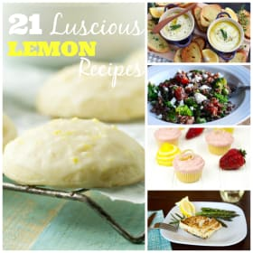 21 Luscious Lemon Recipes