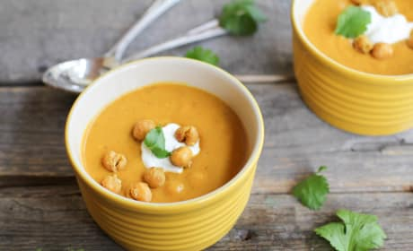 Sweet Potato Coconut Curry Soup Picture