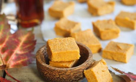 Paleo Pumpkin Pie Fudge Recipe