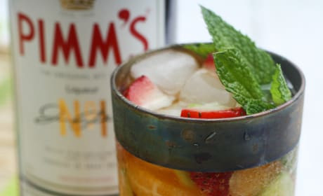 Pimm's Cup Ice Pops Picture