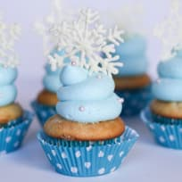 Frozen Cupcakes Recipe
