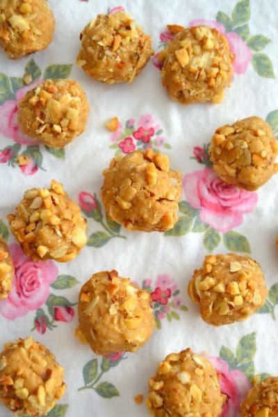 Peanut Butter Cookie Dough Balls Picture
