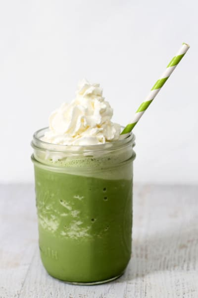 File 1 Homemade Starbucks Green Tea Frappuccino