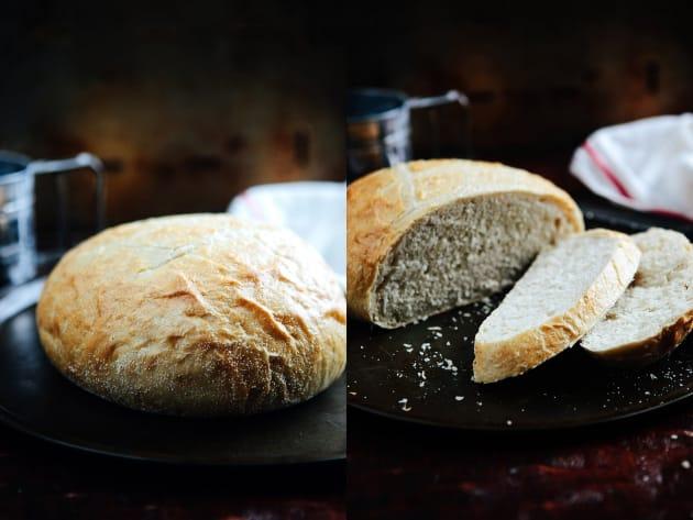 乡村面包配方图片