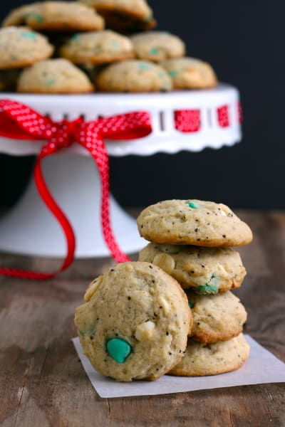 White Chocolate Peppermint Mocha Cookies Image