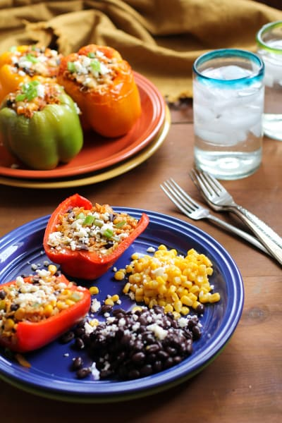 Southwest Stuffed Bell Peppers Picture