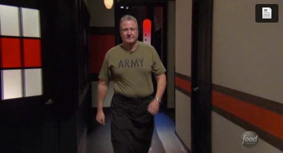 Military on Chopped