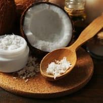 Tropical Coconut Oil Salt Scrub
