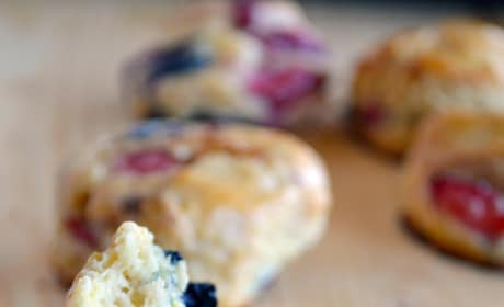 Mixed Berry Biscuits Pic