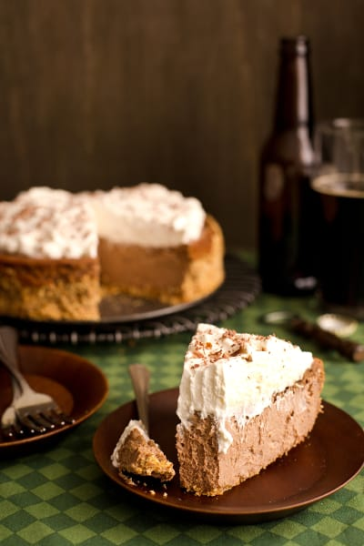 Chocolate Stout Cheesecake Image