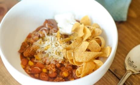 Gluten Free Turkey Chili with Corn Photo