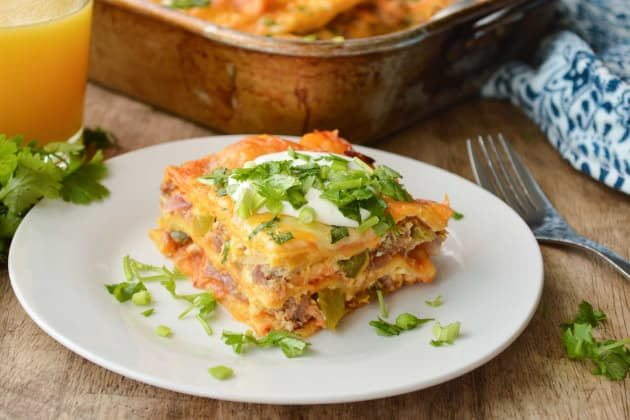 Enchilada Breakfast Casserole Photo