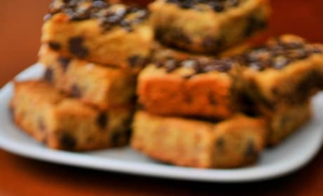 Chocolate Chip Cookie Bars Picture