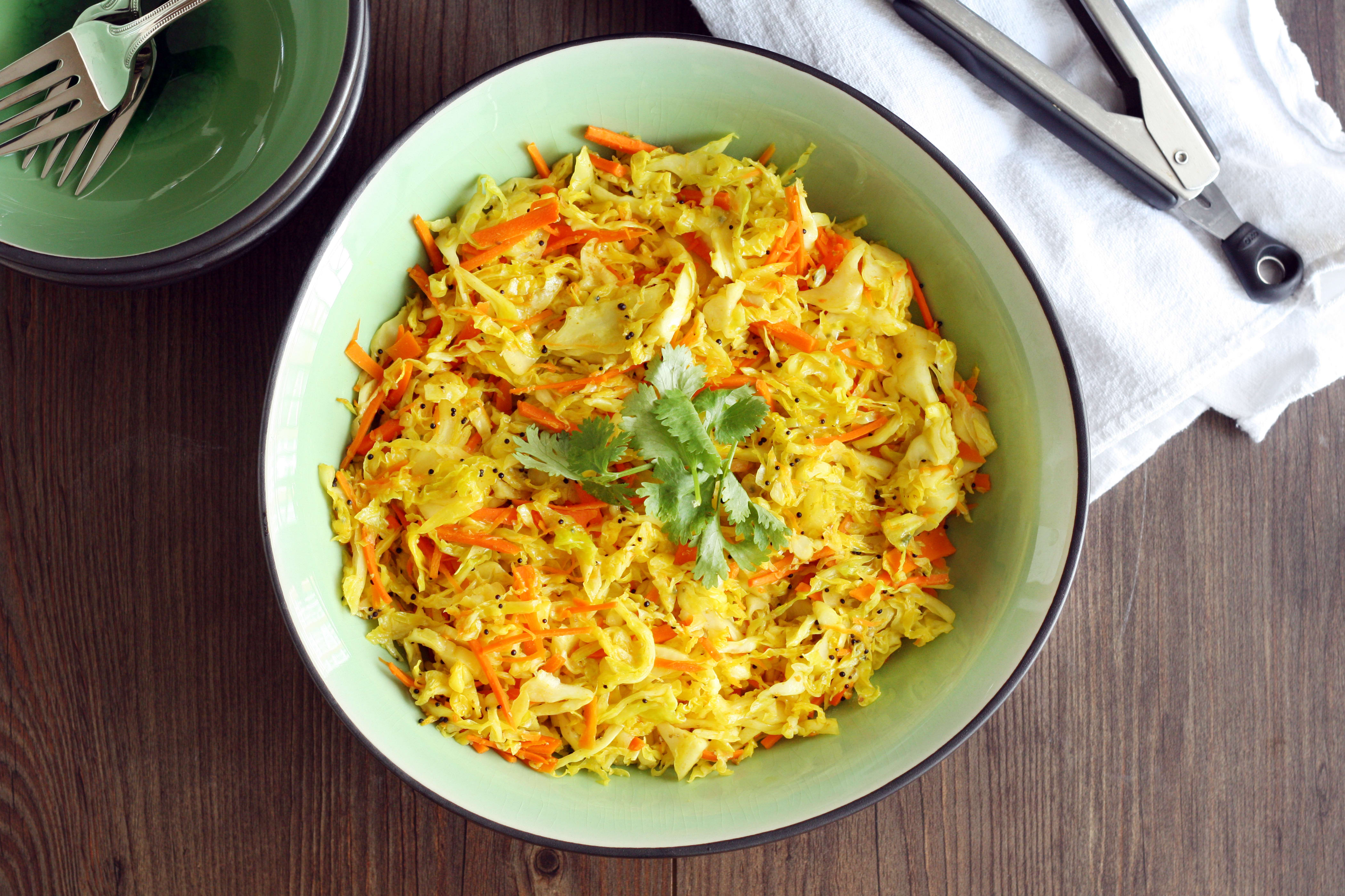 Cabbage stir fry full of indian flavor food fanatic forumfinder Gallery