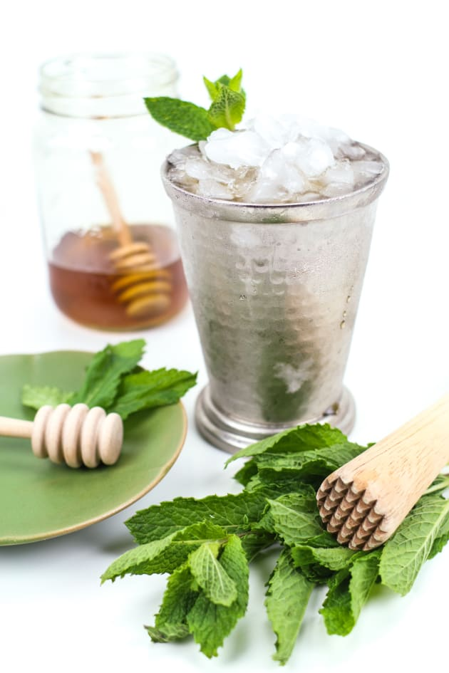 Honey Whiskey Mint Julep Picture
