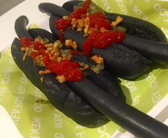 Would You Eat a Black Hot Dog?